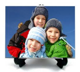 Personalised Photo Display Tile 8x6in With FREE Stand